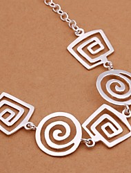 R&D Silver-Plated Necklace