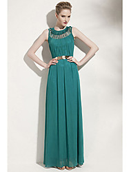 Rotonda di Yeyuhan donne Scontornabile Leve Foral Dress (verde)