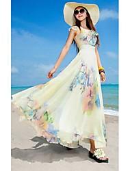 Женская Пляж Платье Юбка Развлечение Туризм платье