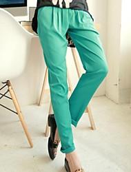 Frauen-elastische Taille Harem Pants