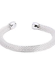 Rundrohr Silber Armband