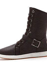 Spring British Fashion Canvas Leisure Trend  Turned Shoes