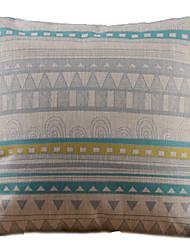Gracioso padrão geométrico decorativa fronha