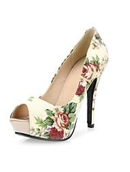 Frauen Hochzeit Pfennigabsatz Peep Toe Pumps / Absatz-Schuhe (weitere Farben)