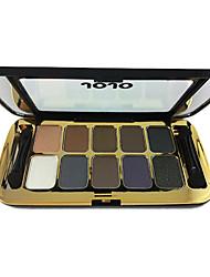 10 colores de maquillaje paleta de sombra (J-234)