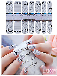 DF COLOR Manicure Forniture Nail Sticker Manicure Stickers (D1007)