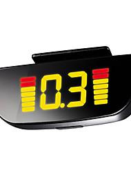Parking Sensor with 4 Radar+Buzzer 3012 (027,Black)