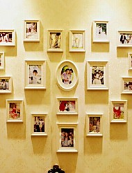 White Photo Frame Collection Set of 19