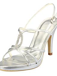 Women's Wedding Stiletto Heel Pumps Sandals\|Heels with Rhinstone(More Colors)