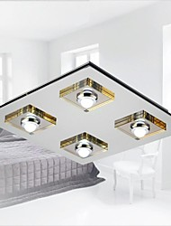 MAISHANG® Ceiling Lamps , 4 Light , Artistic Stainless Steel Plating MS-88004