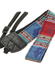 Ethnic Style Shoulder Strip for Photographic Camera 011