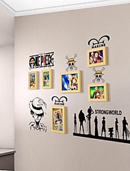 Photo Frame Set of 6 with Strongworld Wall Sticker