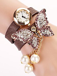 C&D 2014 New Set Auger Butterfly Rivet Bracelet Women Dress Watches XK-181