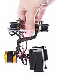 Ouro Brushless Gimbal GoPro Hero 3 Monte DJI Fantasma Compatível Tarot TL68A00