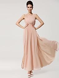 Women's Wear Condole Belt Bohemia Split Backless Dress