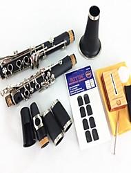 B Klarinette Klarinette Instrument der Doppel Abschnitt 2 + Reed + Tooth Pad
