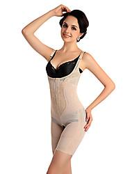 cravo da mulher fina shapewear nylon transparente queima de gordura