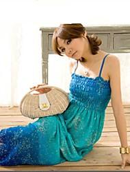 Nouvelle longue robe bohème de femmes
