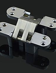 100 milímetros × 73 milímetros clássico Sólidos Dobradiça cetim Porta de dobradura