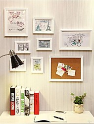 Photo Frame with Massage Board Set of 8