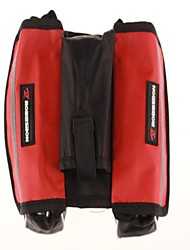 Bike Frame Bag / Cycle Bag Waterproof Traveling / Cycling/Bike Terylene Red / Black