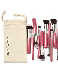 10 шт Профессиональные кисти для макияжа указан Макияж Кисти Комплект Бесплатный Draw Строка мешок состава