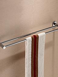 Silber Messing 24 Zoll Doppel-Handtuchhalter