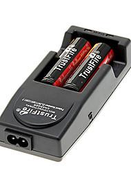 TrustFire 18650 2400mAh (2pcs) + TrustFire TR-001 Cargador de batería