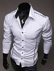 borda personalidade nono magro lazer camisa