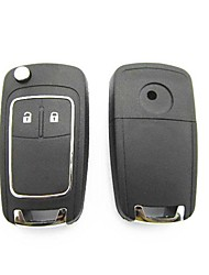2-Button Remote Flip Key Case for Buick EXCELLE