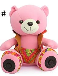 IMMI ® IBS-002 de bande dessinée fraîche poupée d'ours avec fente pour carte TF Bluetooth Speaker