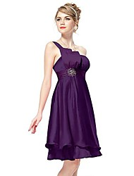 Women's Sexy / Casual / Cute / Party Dress Knee-length Polyester