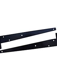 300мм × 93мм Pure Black аэрозольной краской пластиковые Для Склад двери T-шарнир