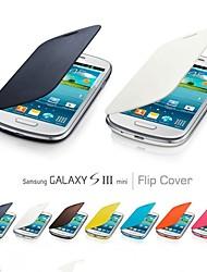 vormor® Flip Folio-PU-Kasten für Samsung-Galaxie SIII i8190 Mini (verschiedene Farben)