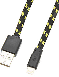 USB-2.0-Kabel, um Weaved 8Pol (Black 196cm)