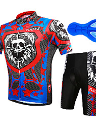 FJQXZ Cycling Clothing Sets/Suits Men's Bike Breathable / Ultraviolet Resistant / Quick Dry / Anatomic Design / Wearable / Static-free