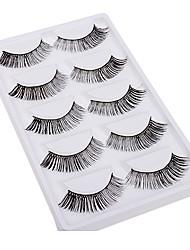 5 Pairs Grace Cross Style False Eyelashes within High-grade Gift Box 5-02