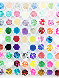 DIY New Fashion 90PCS Mix Pattern Nail Art Decorations