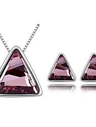Xingzi Women's Swarovski Austria Crystal Jewelry Set 6777