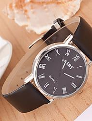 Hanno Männer Einfache Wasserdichte Licht Rom Word-Gürtel Lovers Uhren