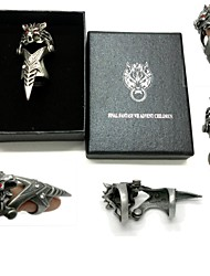Jewelry Inspired by Final Fantasy Cosplay Anime/ Video Games Cosplay Accessories Ring Silver Alloy Male
