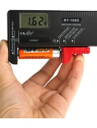 Botón ZW-168D del AA AAA CD 9V 1.5V célula recargable Nivel de la Batería Tester