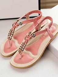 Shimandi ® Leatherette Women's Flat Heels Sandals Shoes(More Colors)