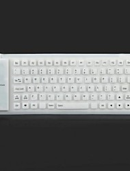 85 Soft Key silicone USB 2.0 Keyboard Wired