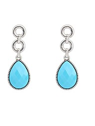 Women's Fashion Elegant Drops Shape Simple Stud Drop Earrings (More Colors) (1 Pair)