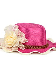 Lady New Japan Style Straw Hat With Flower