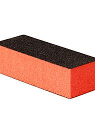 4x черный 4-х сторонняя буфера шлифовальный блок ногтей инструмент