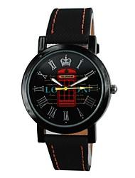 Unisex Mailbox Pattern PU Band Quartz Wrist Watch (Assorted Colors) Cool Watches Unique Watches