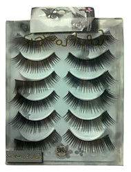 6 pairscoolflower false eyelashes 042#