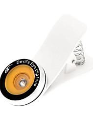 Olho do Diabo Clipe lente olho de peixe para telefone inteligente